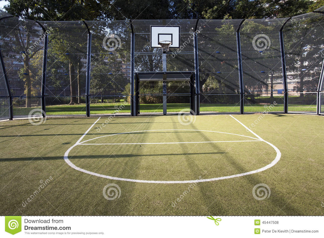 Are there any customs regarding public park sports for Basketball court installation cost