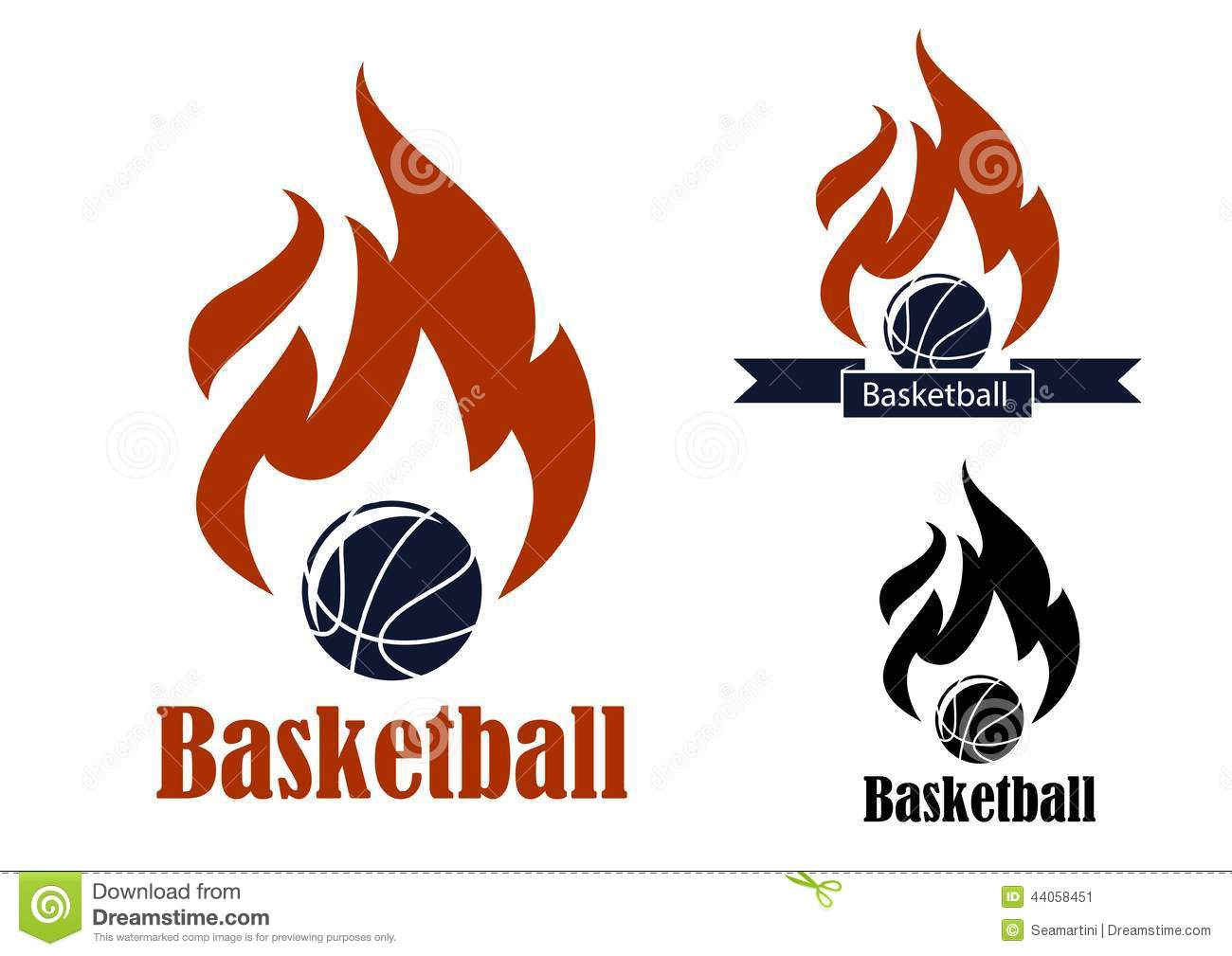Basketball sport emblems stock vector illustration of leisure basketball sport emblems biocorpaavc Choice Image