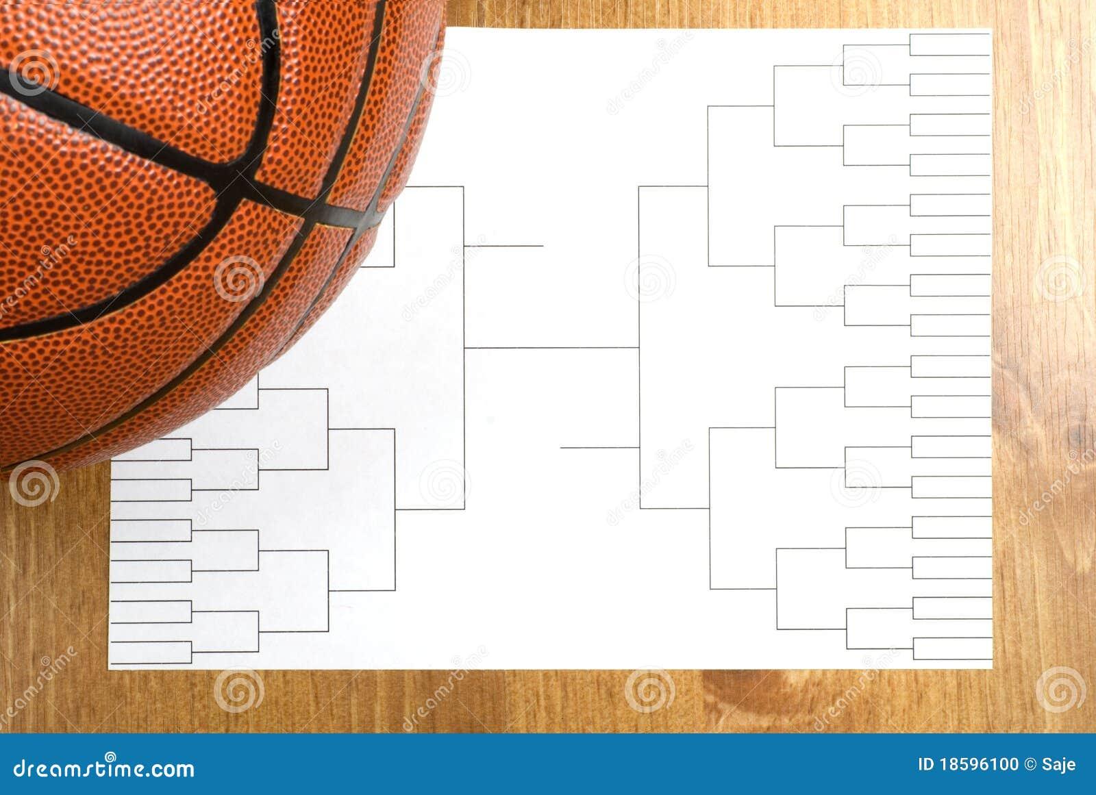 Tournament Bracket Clipart Basketball tournament bracket
