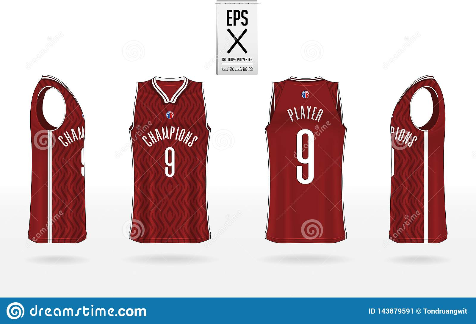 basketball uniform mockup template design for basketball club tank top t shirt mockup for basketball jersey stock vector illustration of player icon 143879591 https www dreamstime com basketball uniform mockup template design club tank top t shirt jersey front view back side vector illustration image143879591