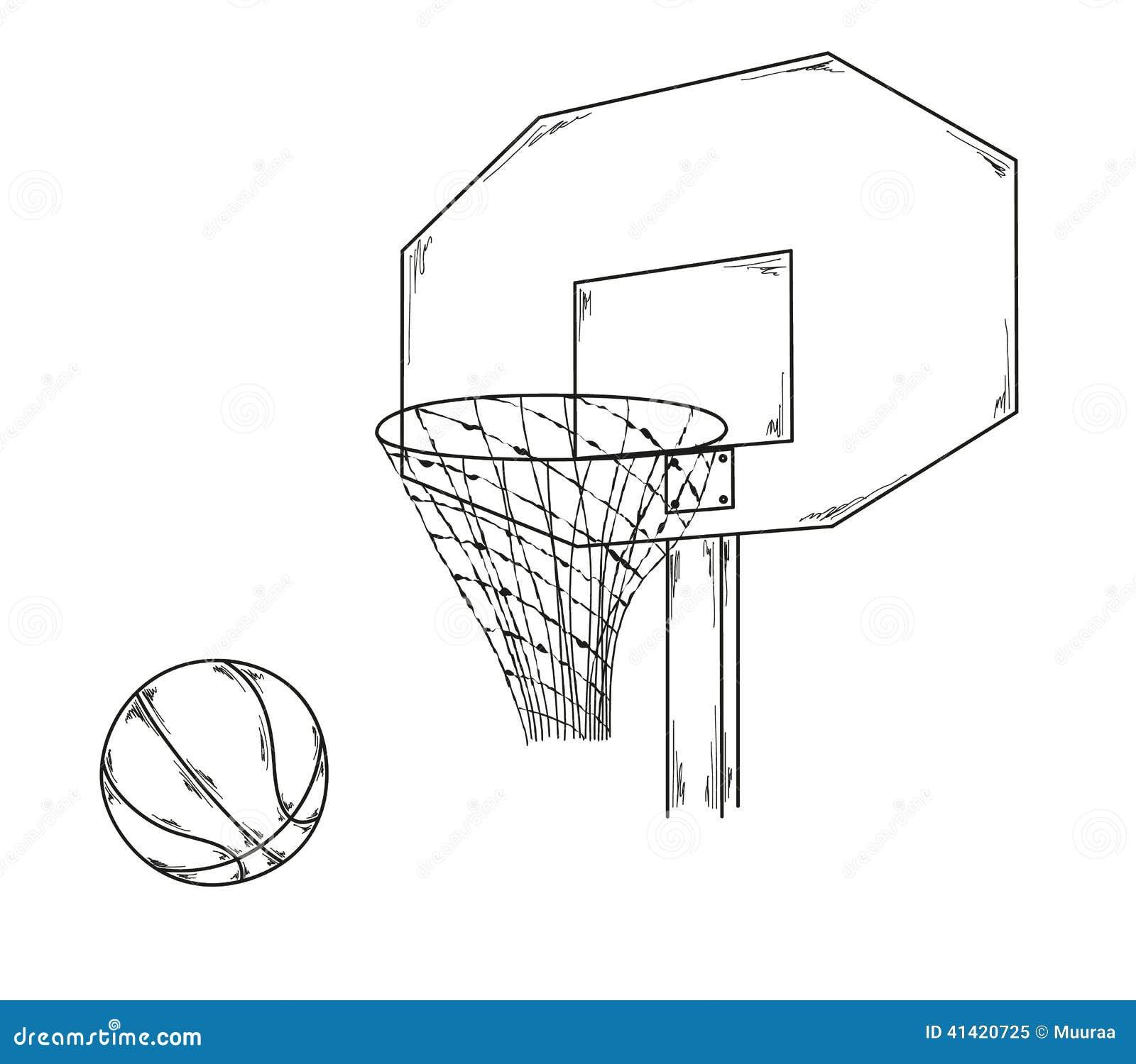 Basketball Stock Illustration - Image 41420725