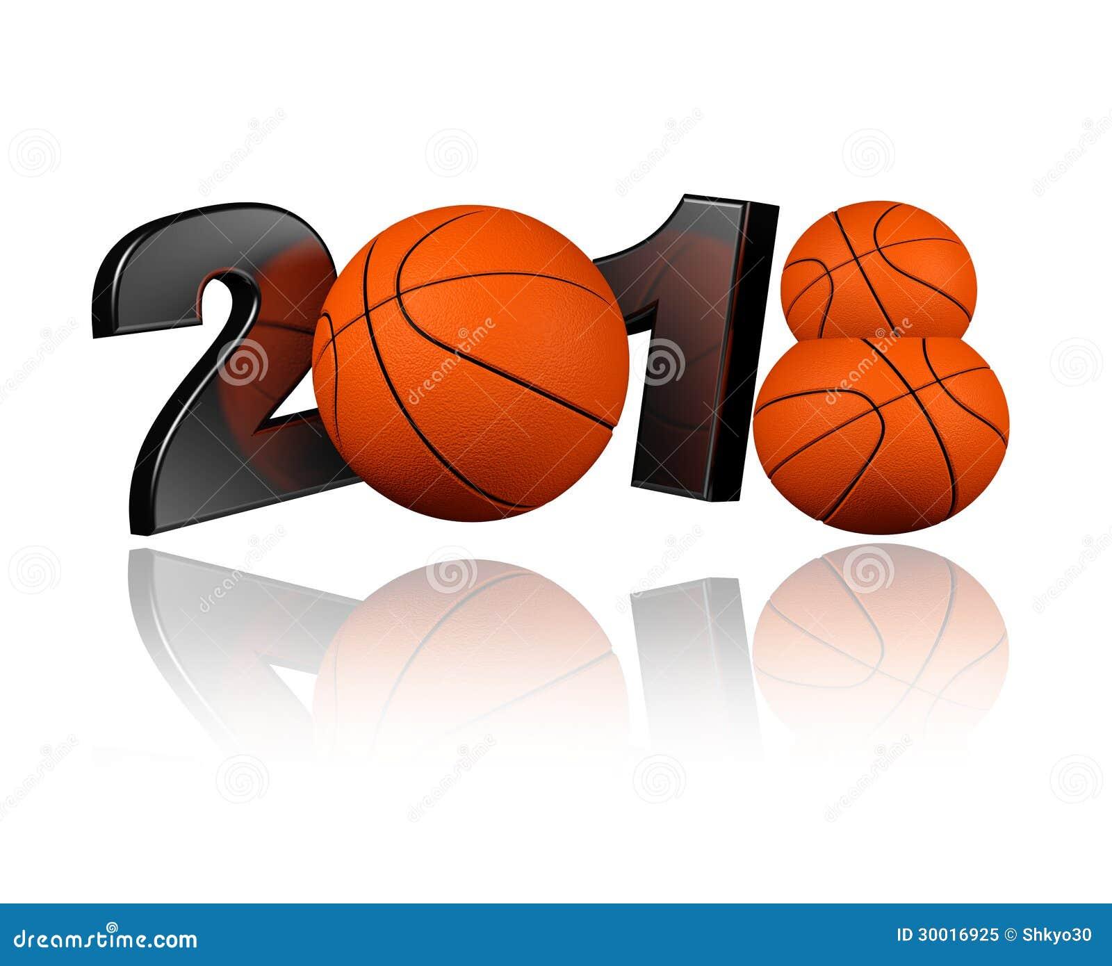 Basketball 2018 Royalty Free Stock Photo - Image: 30016925