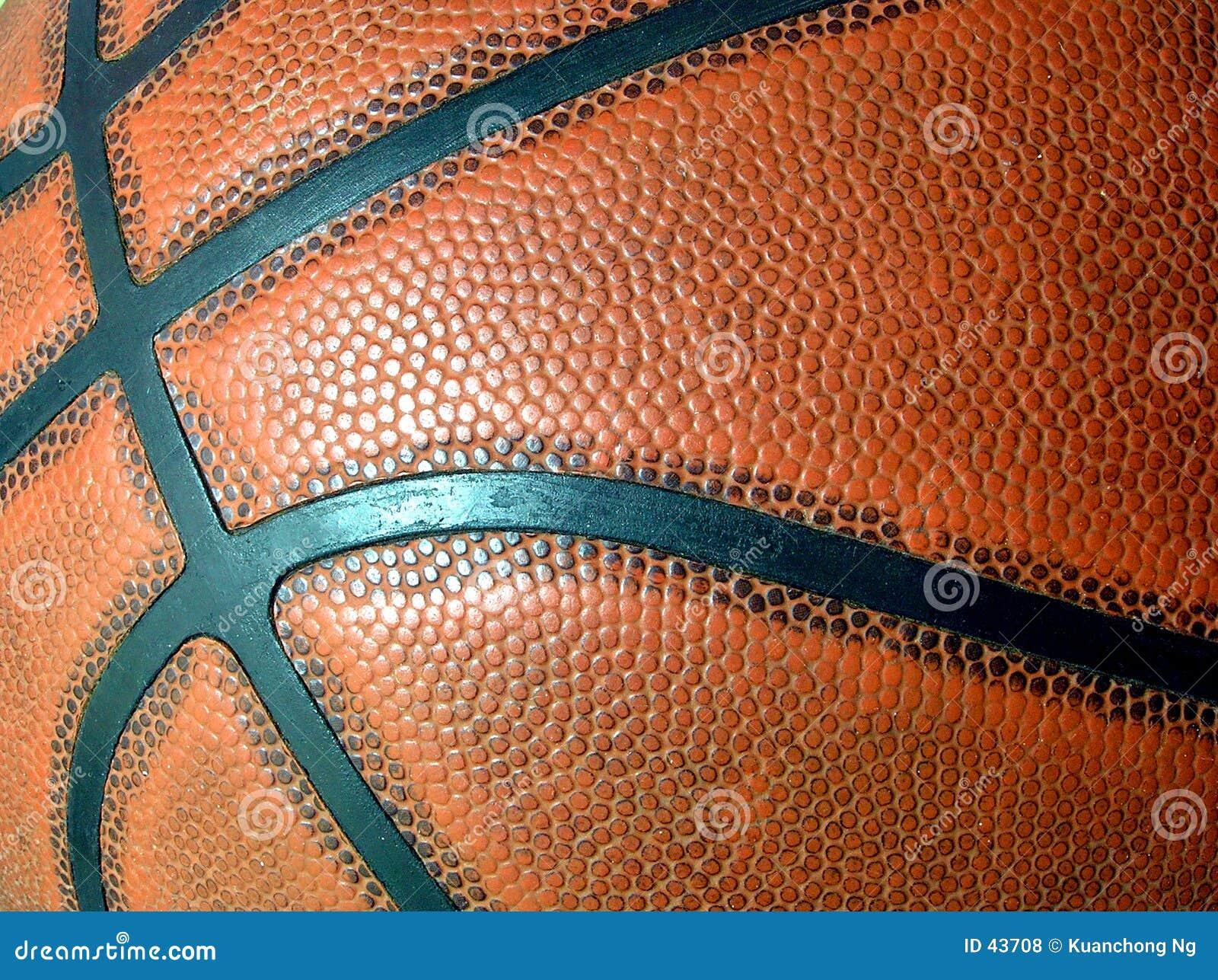 Basketballnahaufnahme
