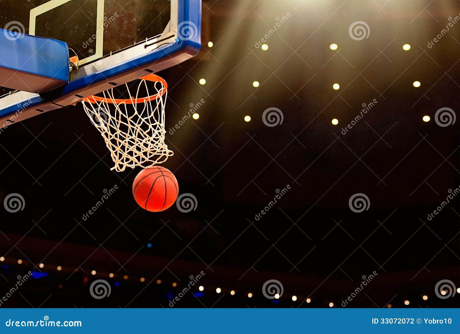 Basketbalspel