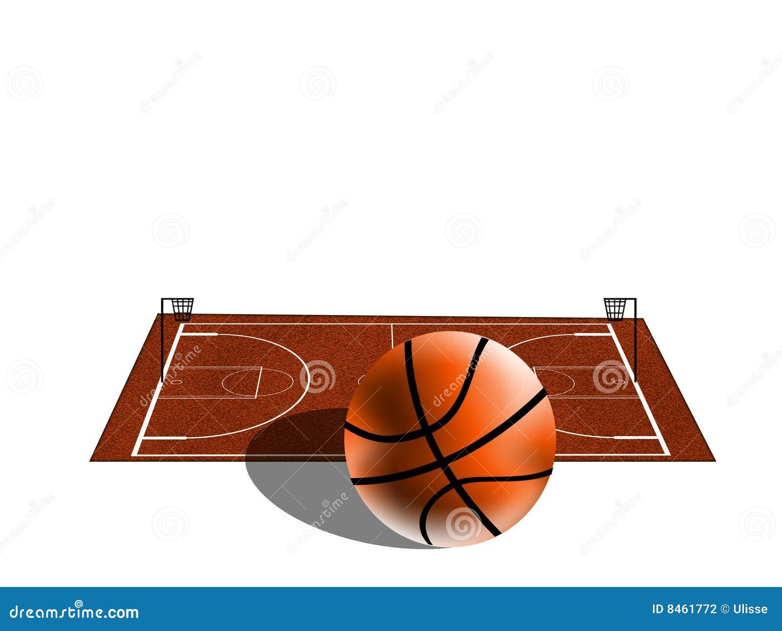Basketfält