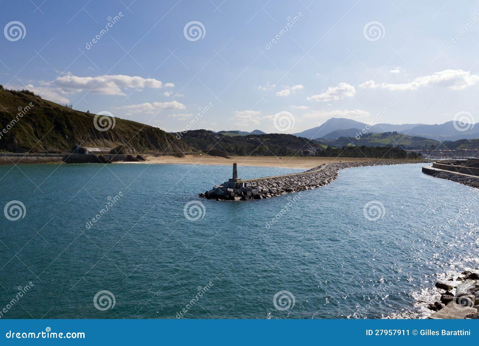 Baskisk kust av Anglet till Debat