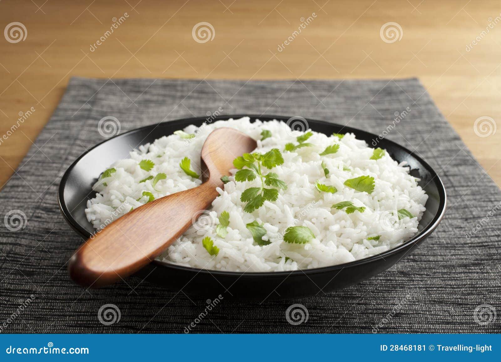 Basmati Rice z kolenderami