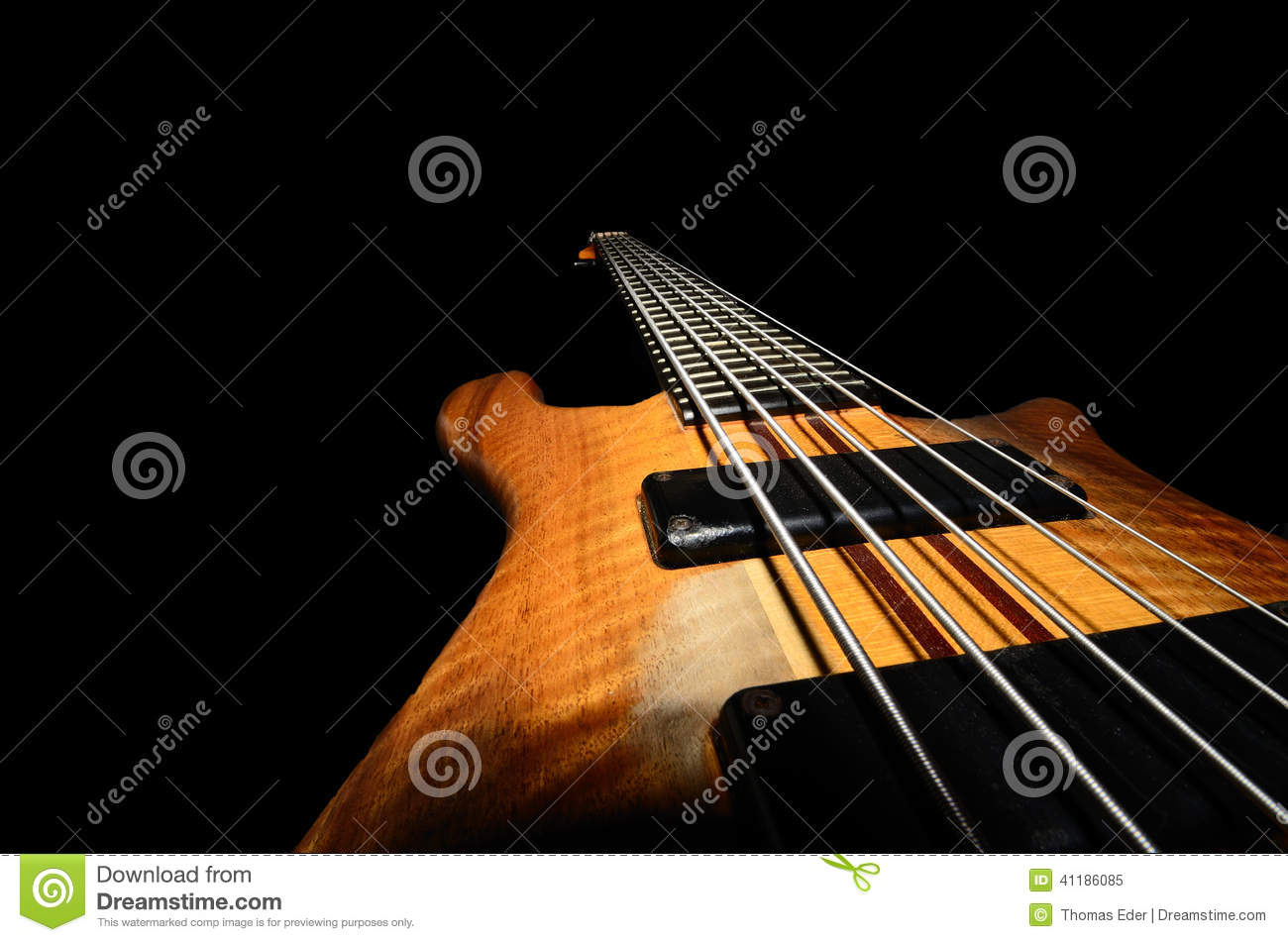 bass guitar strings stock photo image 41186085. Black Bedroom Furniture Sets. Home Design Ideas