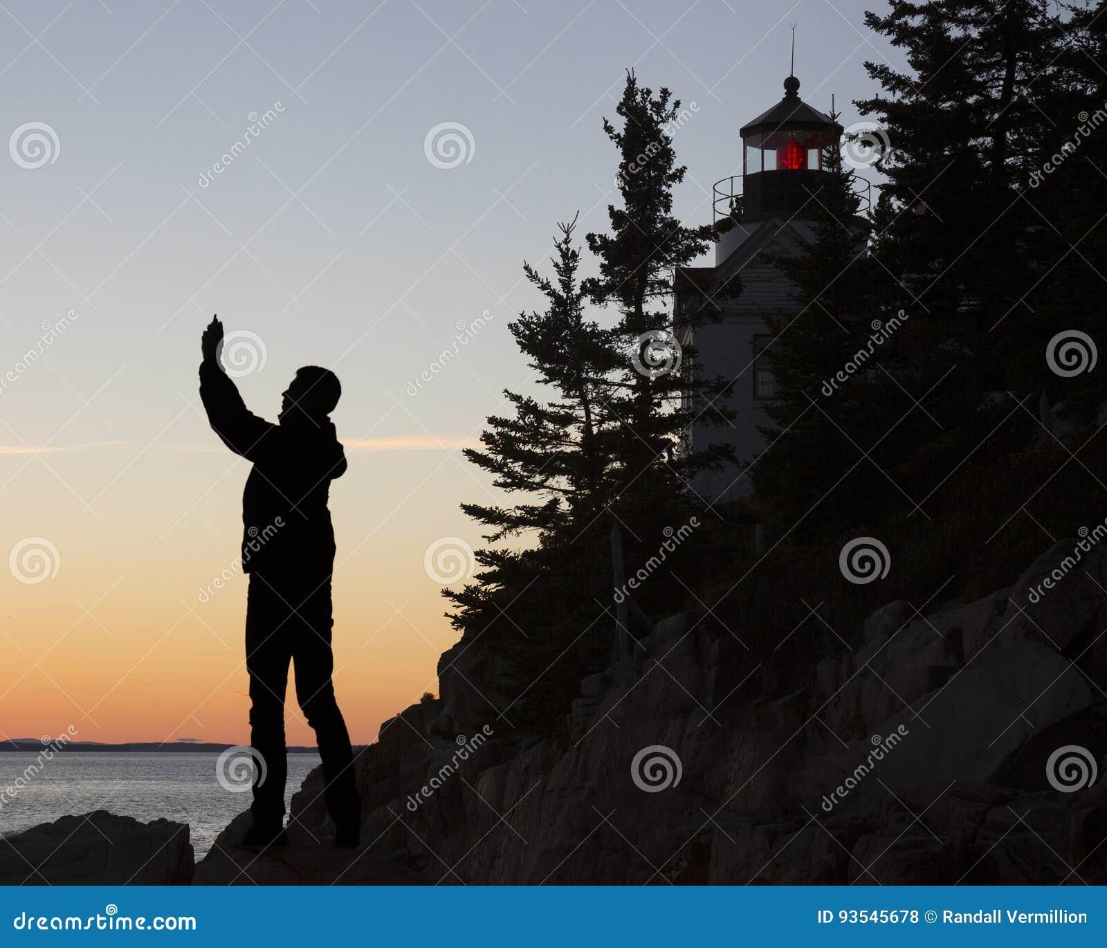 Bass Harbor Head Light House, Acadia, National Park
