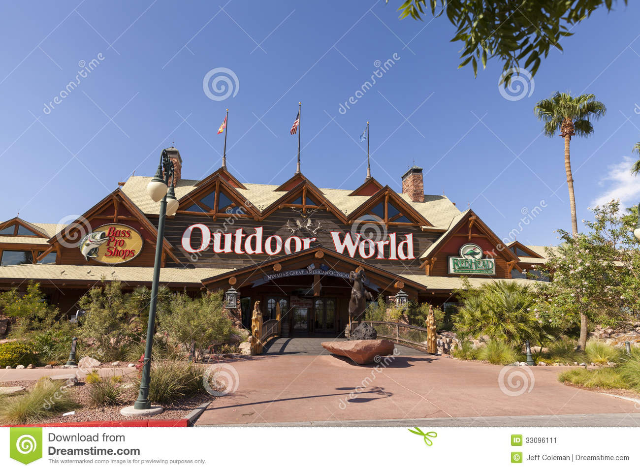 Bass Pro Shop at the Silverton hotel in Las Vegas, NV on August