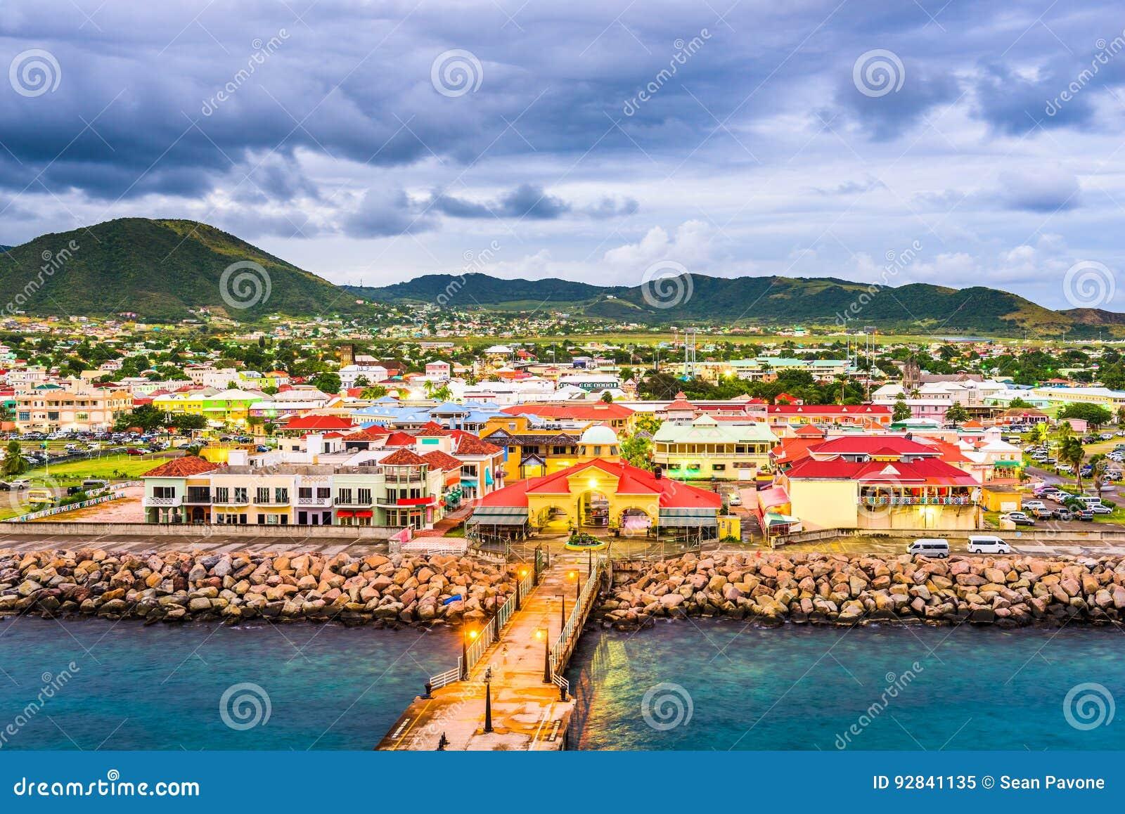 Basseterre St Kitts Stock Image Image Of Indies Scene 92841135