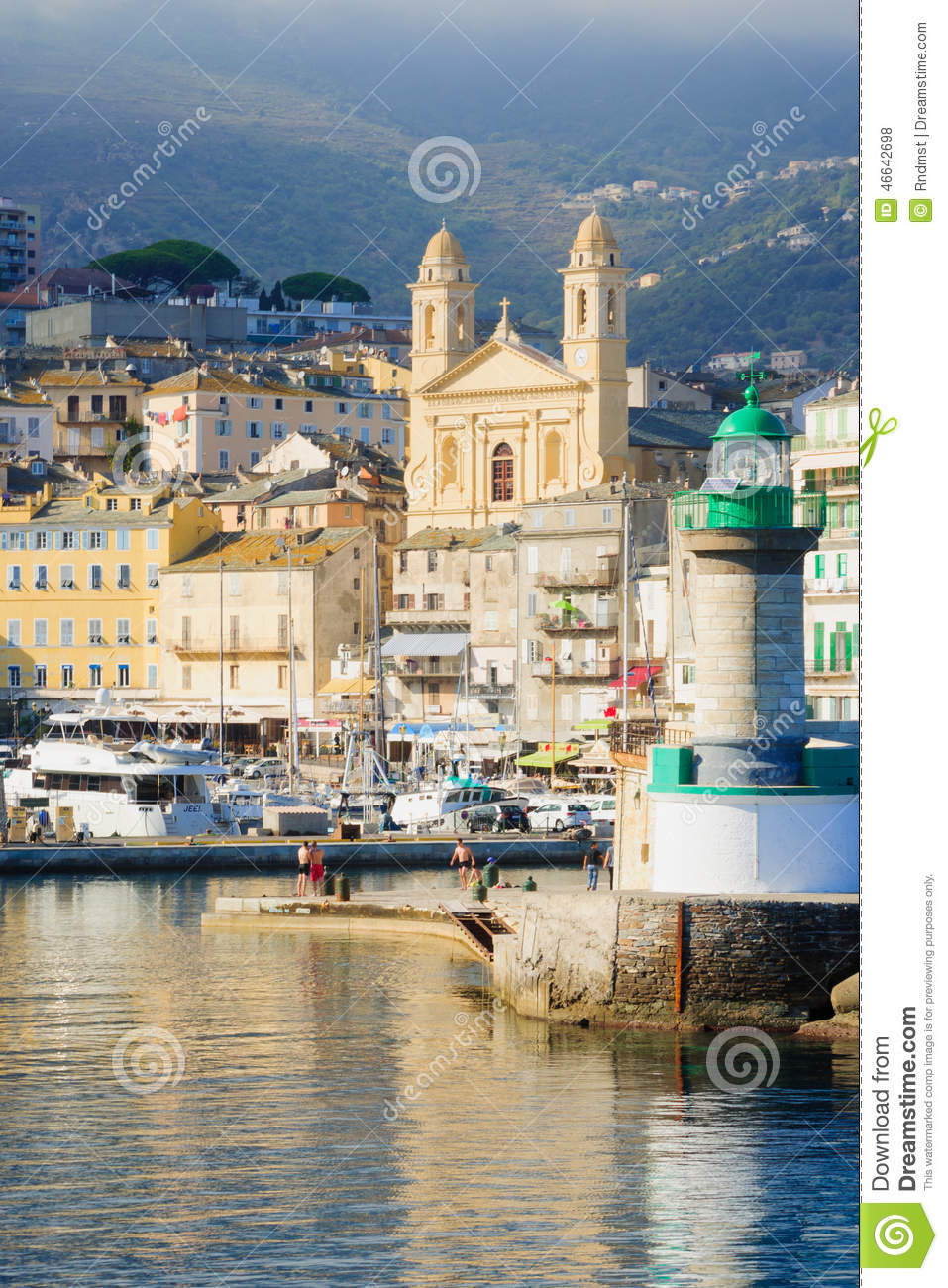 Bastia Vieux Port Editorial Stock Photo Image Of Haute 46642698