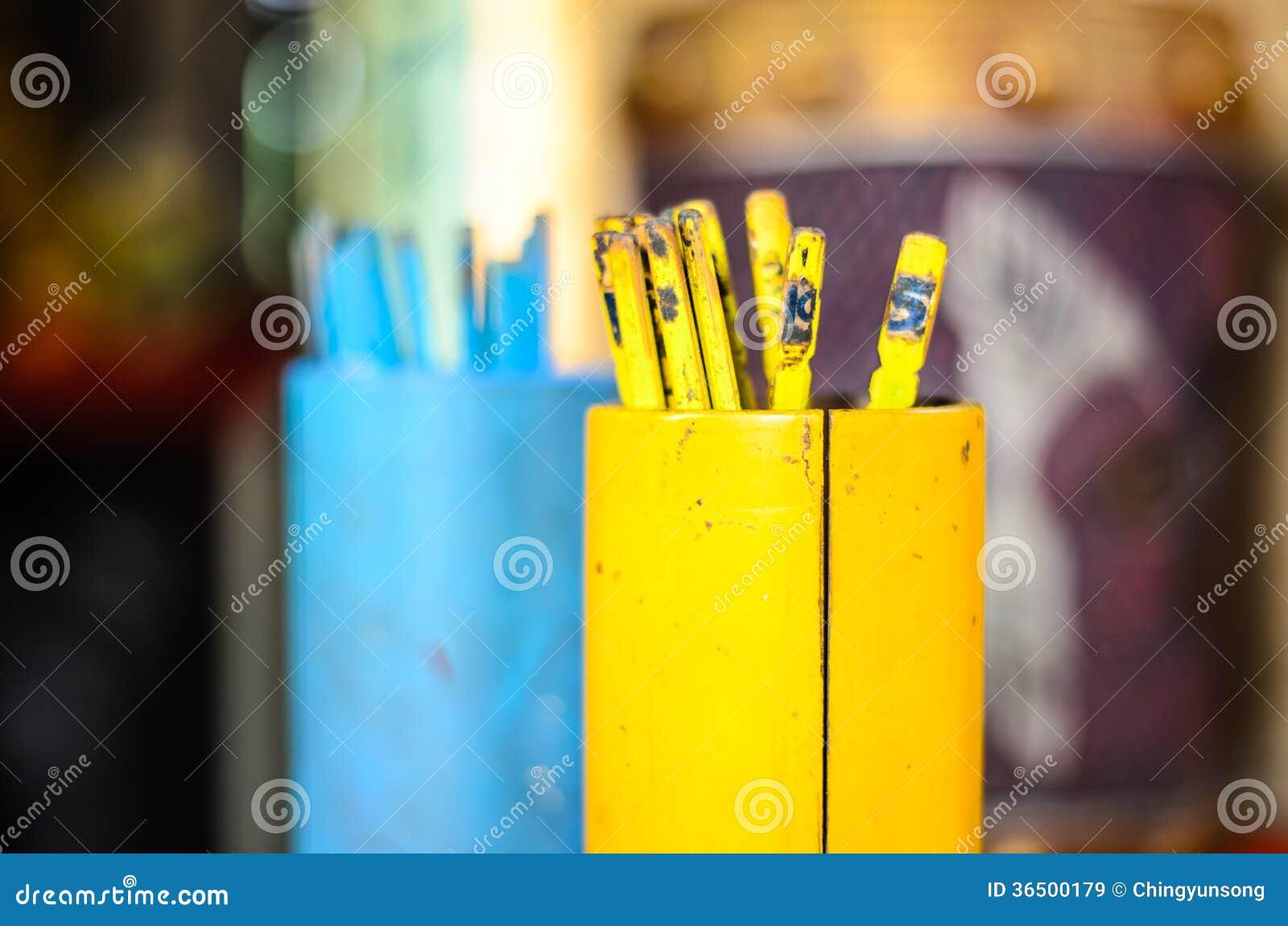 Bastone giallo di fortuna