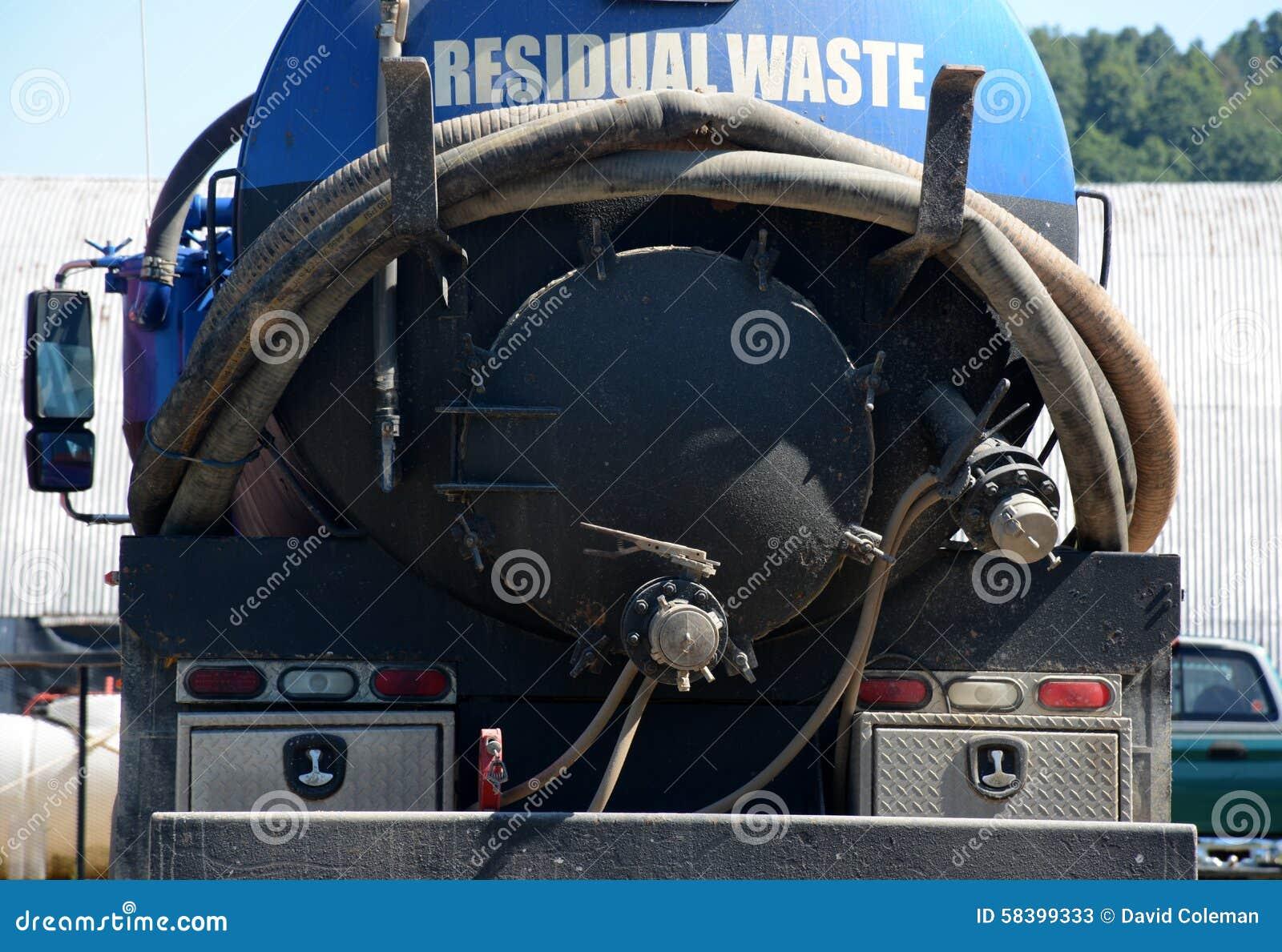 Basura de la residual