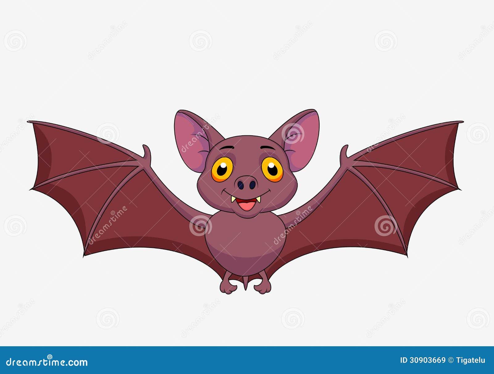 Bat Cartoon Flying Royalty Free Stock Images Image 30903669