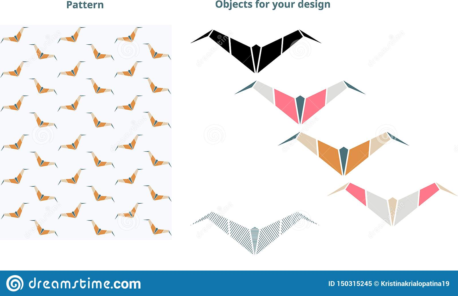 Bat pattern. Perfect for your design.