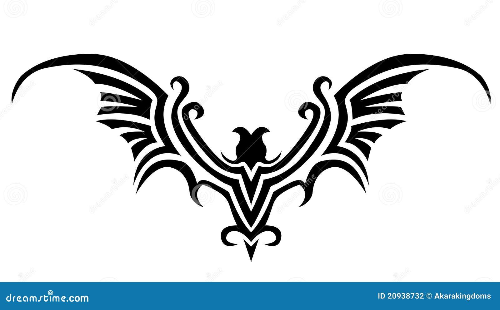 bat wing vector art clipart vector design