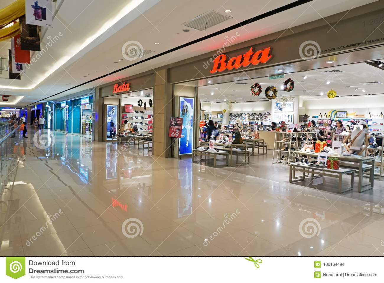 d2814eae715d Bata Store At Kota Kinabalu Editorial Stock Image - Image of ...