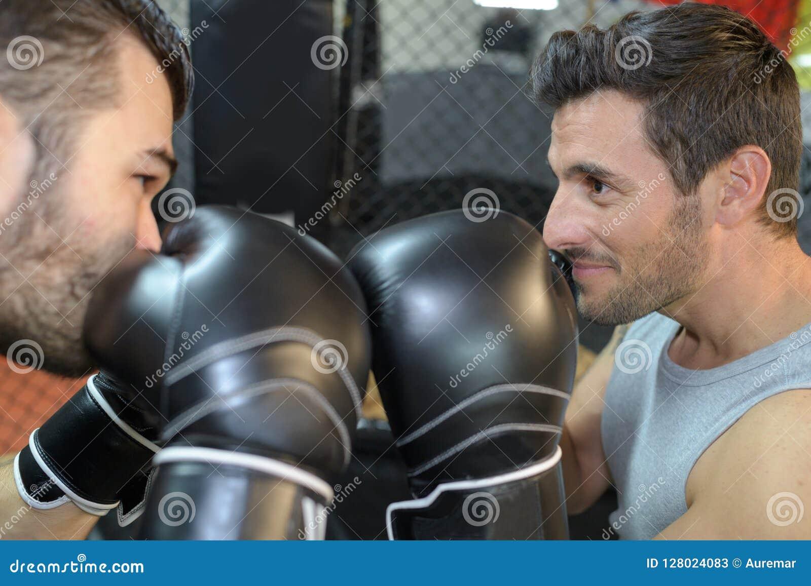 Batalla de dos boxeadores