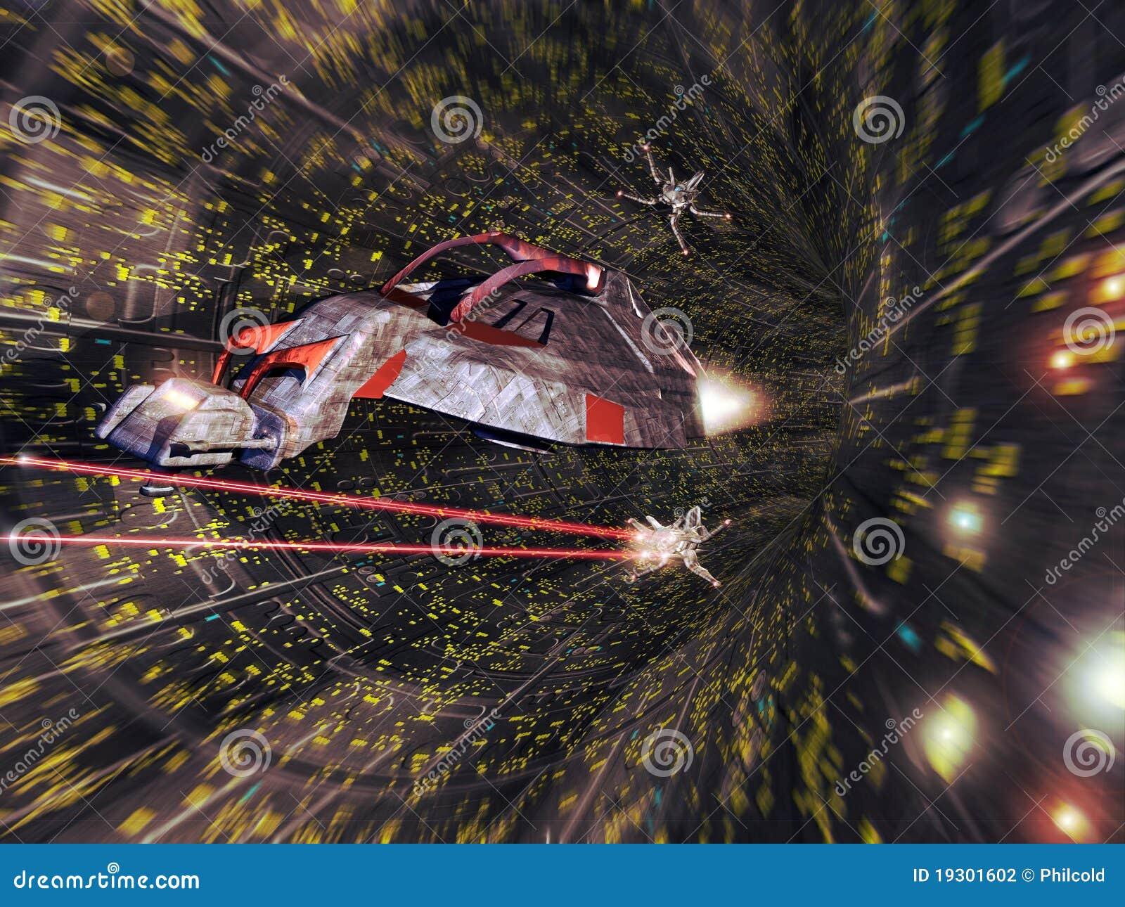 Batalla de la nave espacial