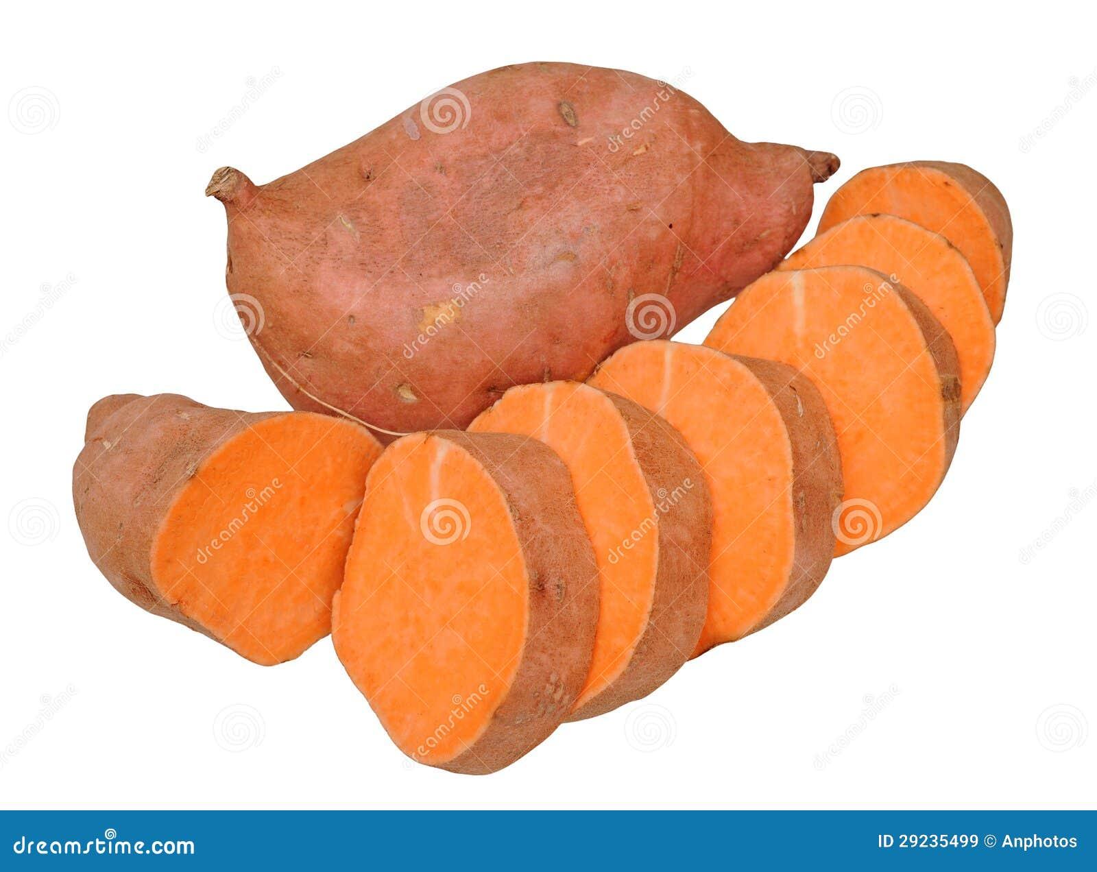 Download Batatas doces imagem de stock. Imagem de fatia, raiz - 29235499
