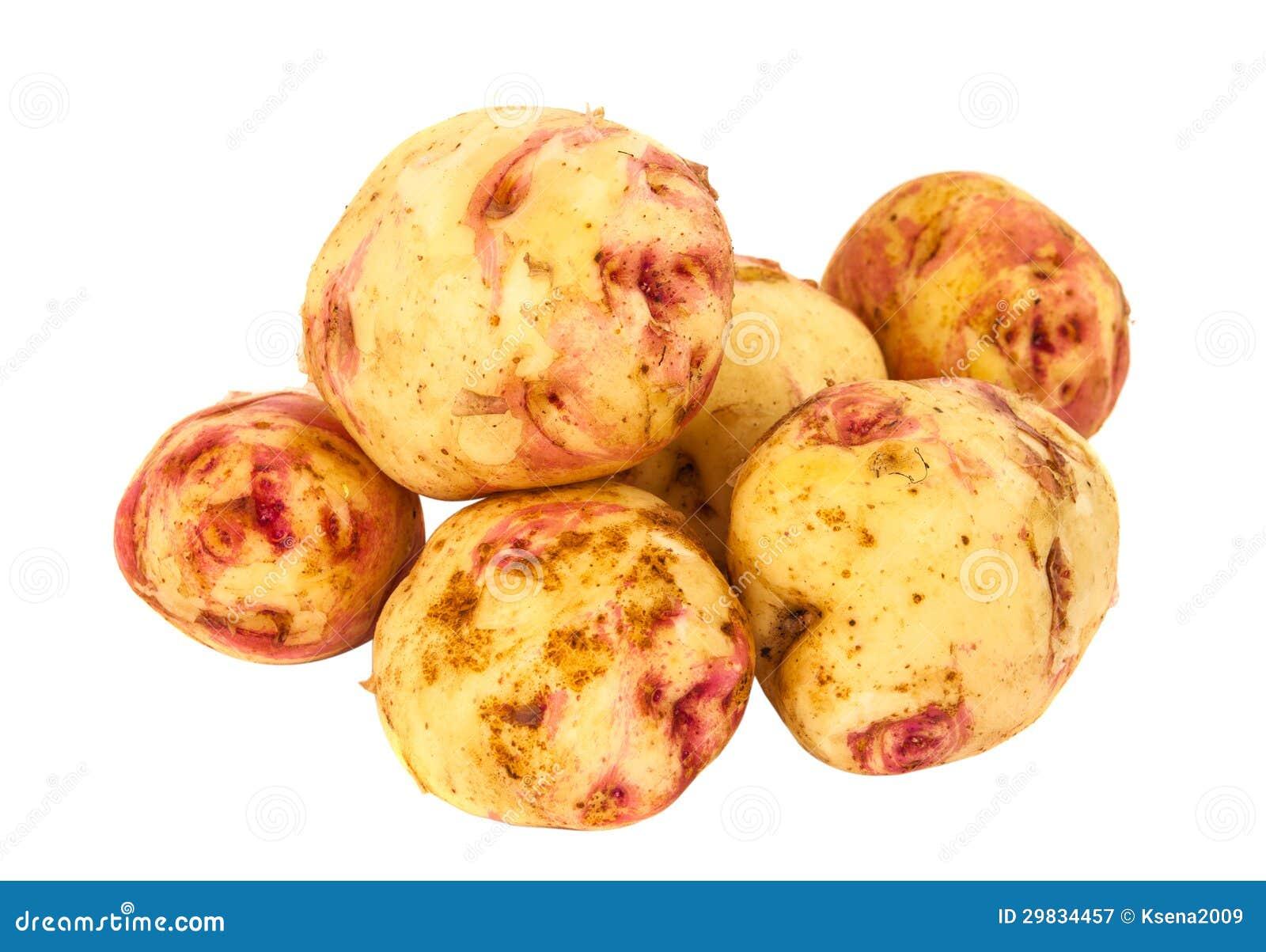 Batatas isoladas