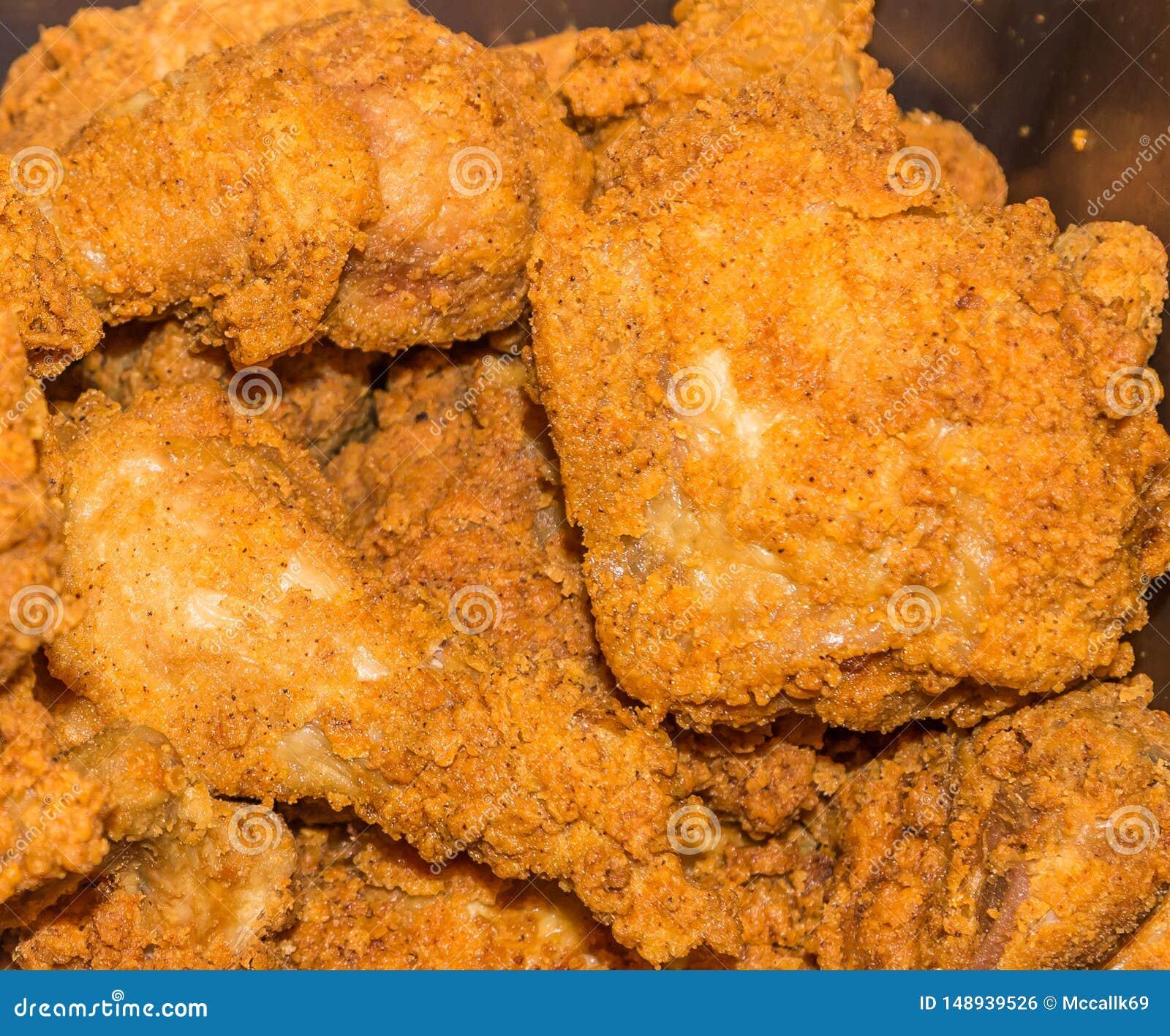 Golden Brown Fried Chicken