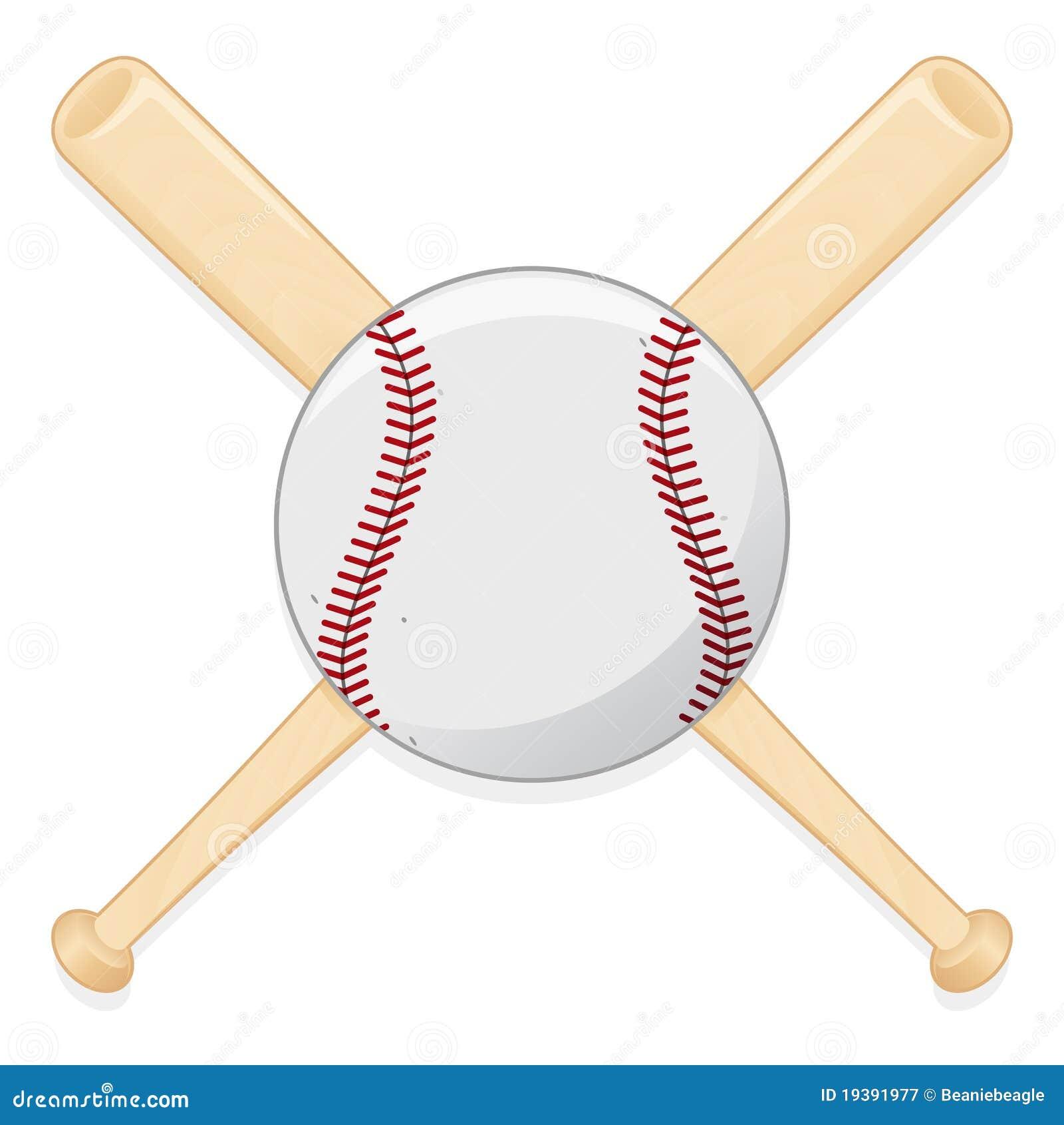 Bate de béisbol y bola