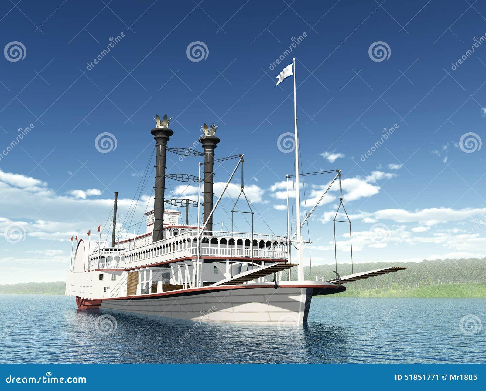 bateau vapeur du mississippi