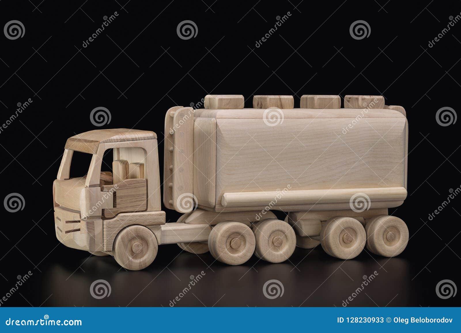 En Transporter Le Bois Pour Et Jouet De Pétrole Bateau Citerne J1TlcFK