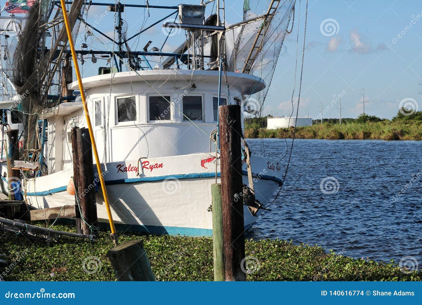 Bateau de crevette de la Louisiane