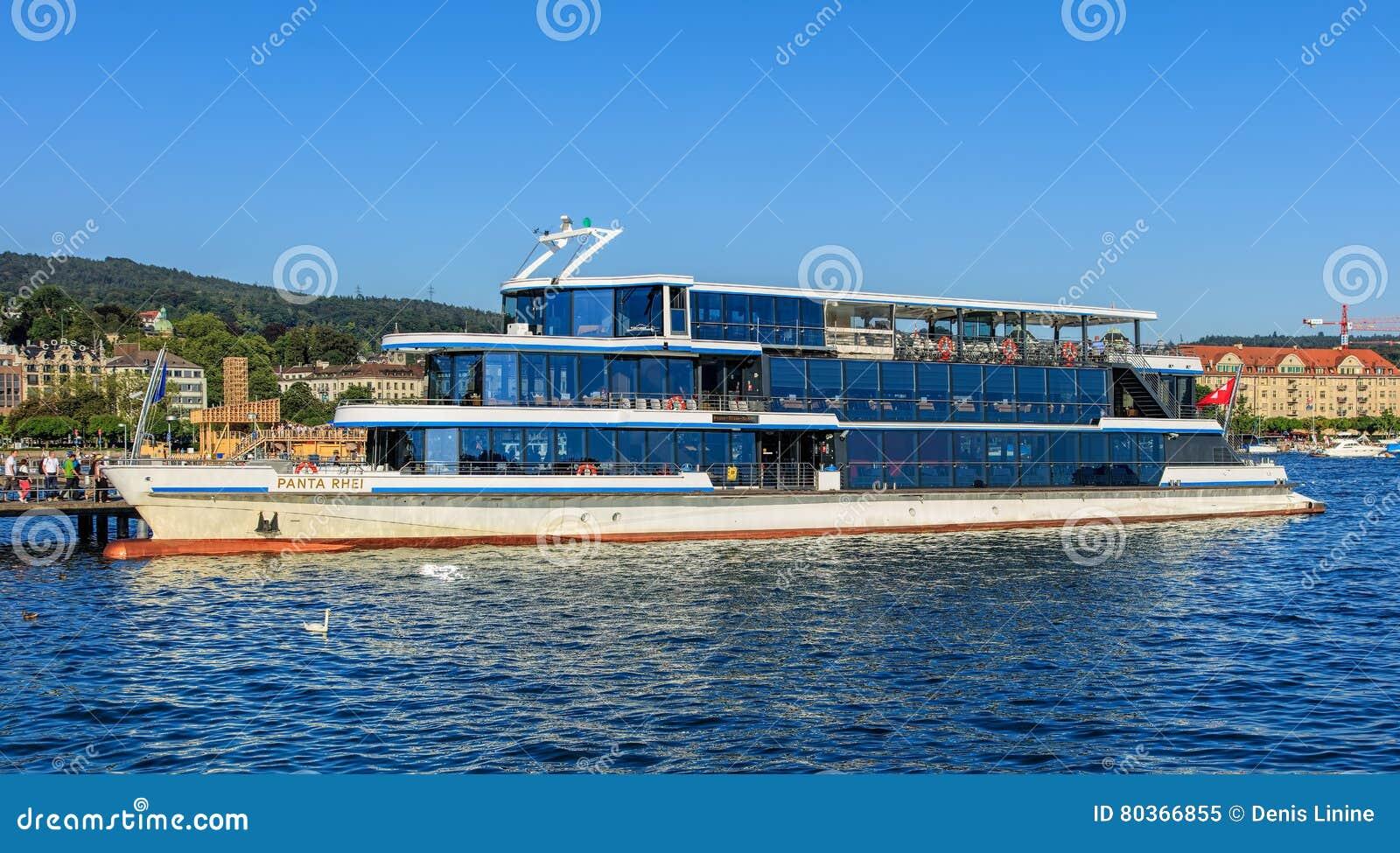 bateau zurich