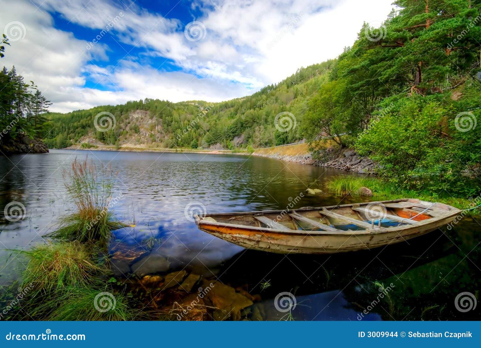 Bateau de fjord scénique