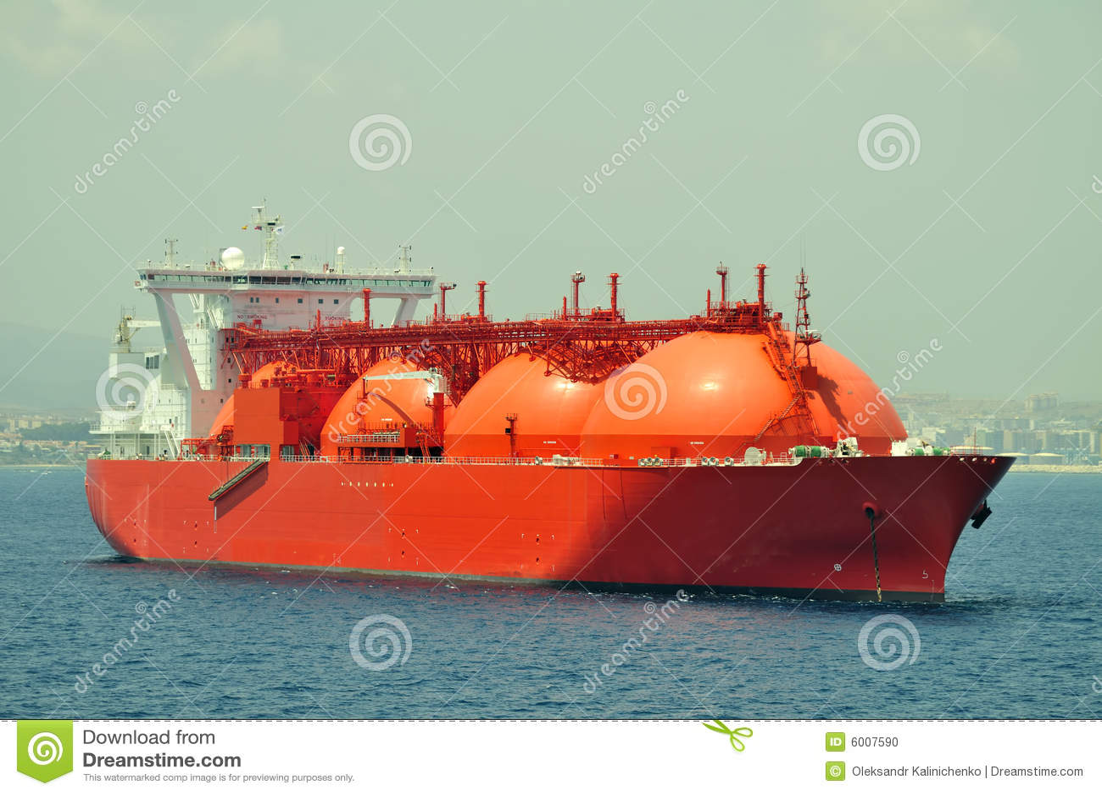 bateau de gnl pour le gaz naturel photo stock image 6007590. Black Bedroom Furniture Sets. Home Design Ideas
