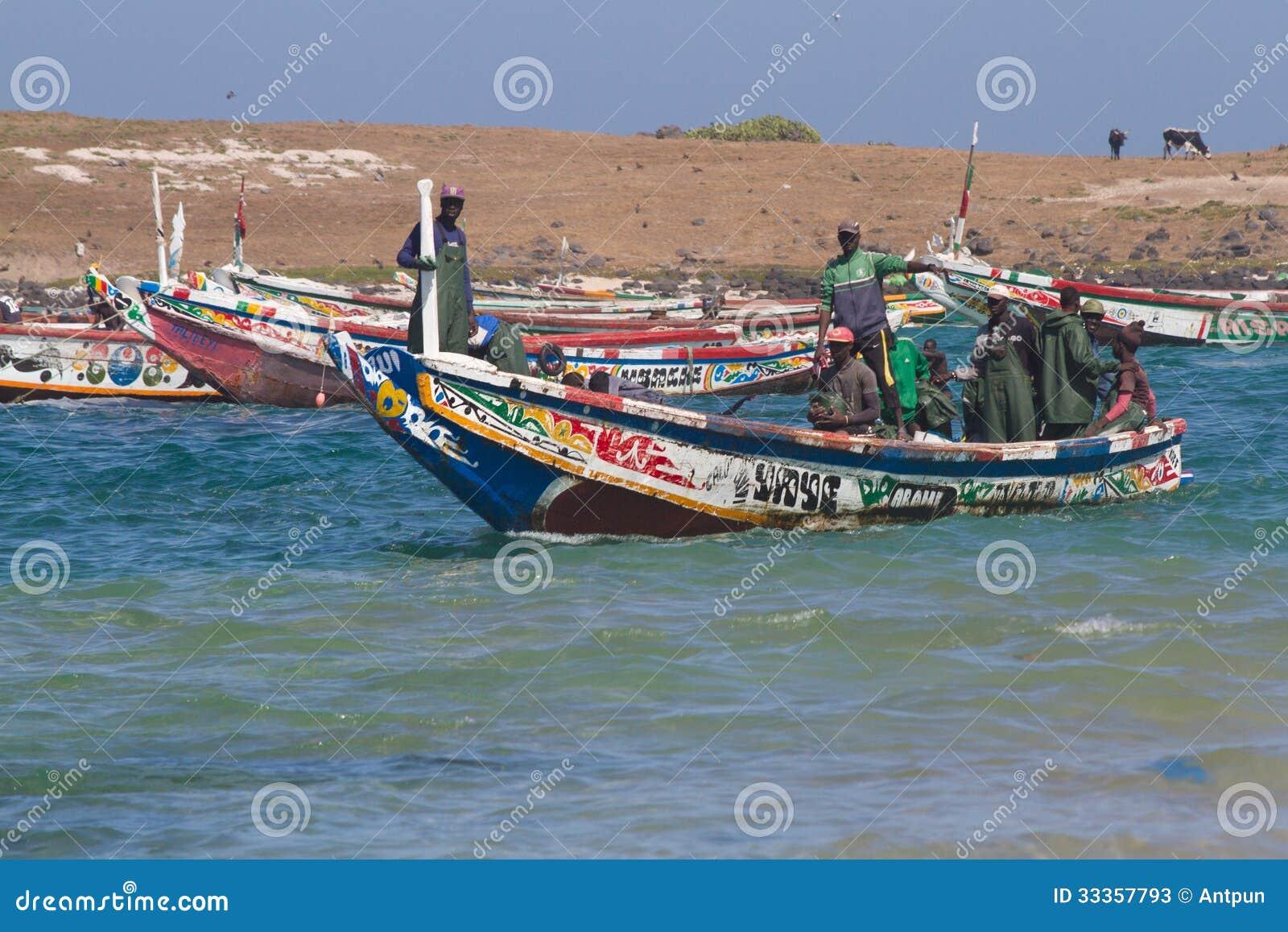 bateau d'afrique