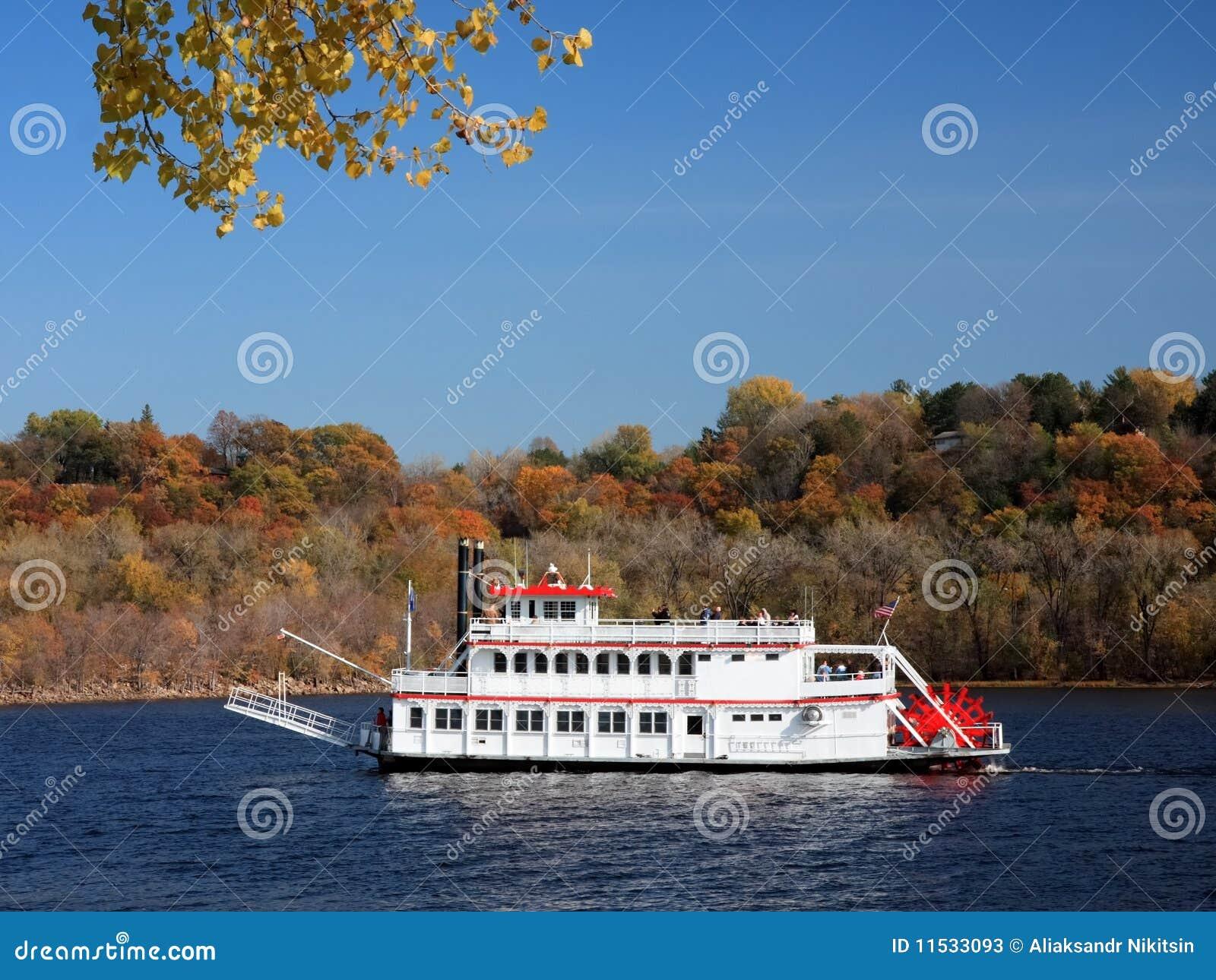 bateau de vapeur sur le mississippi