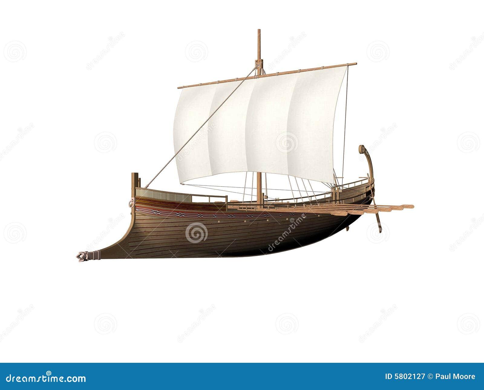roman ship clipart