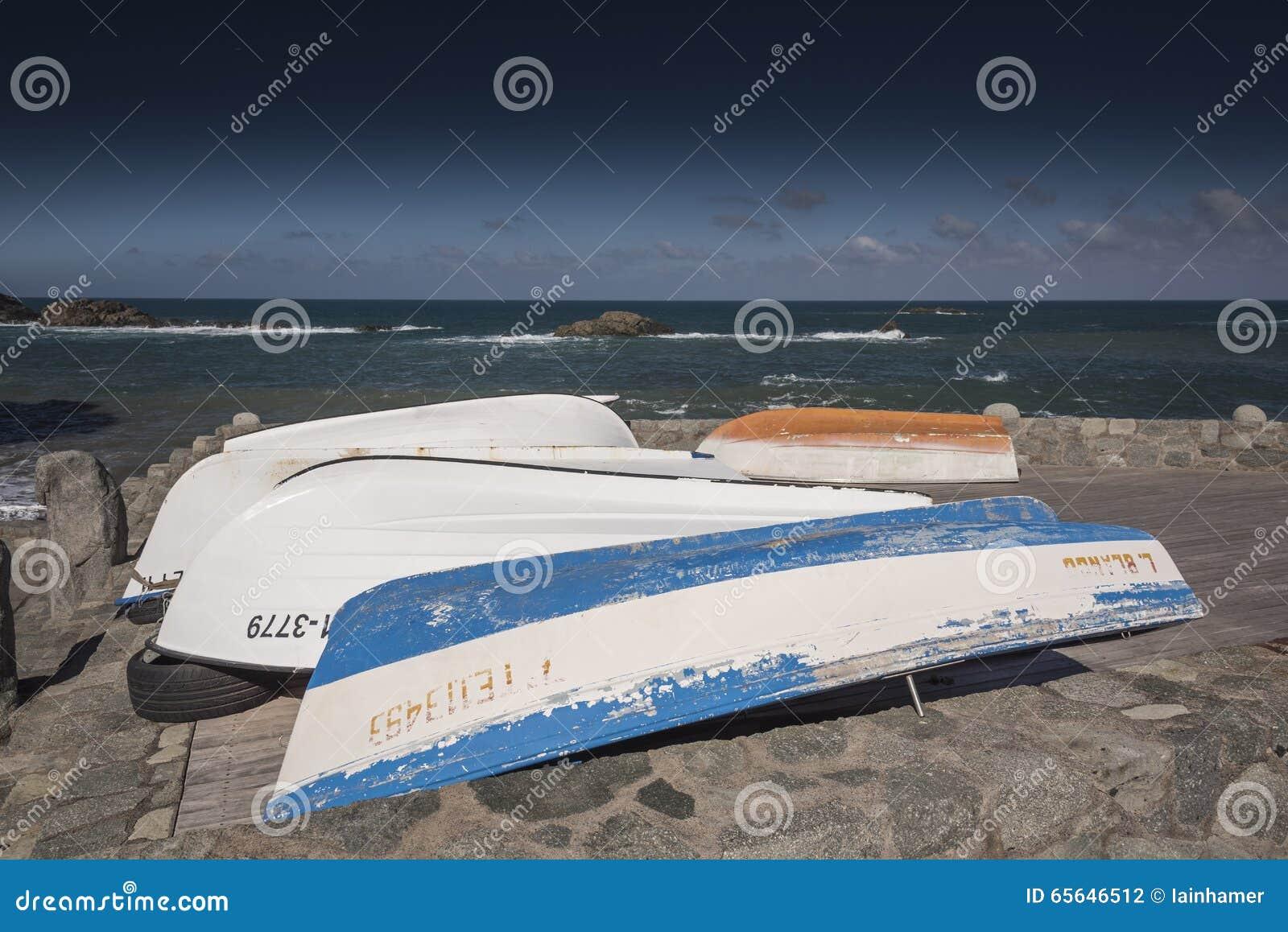 Bateaux chez Playa Taganana Ténérife