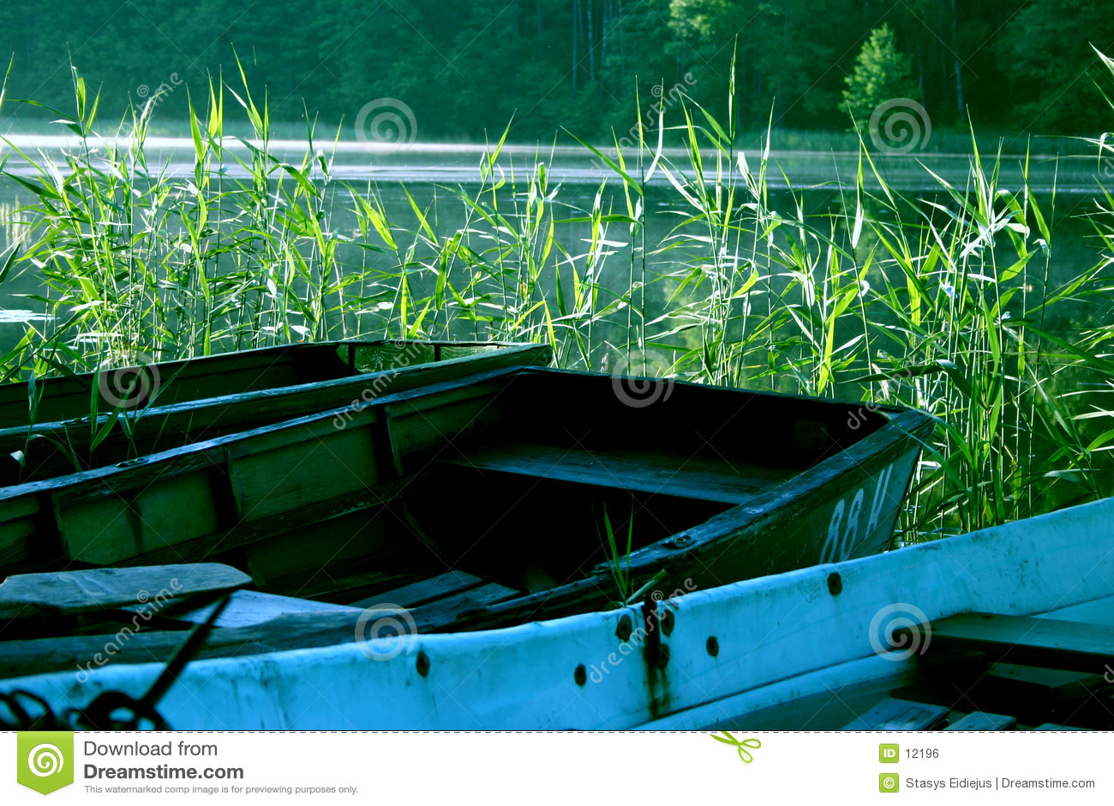 Bateaux dans le lac