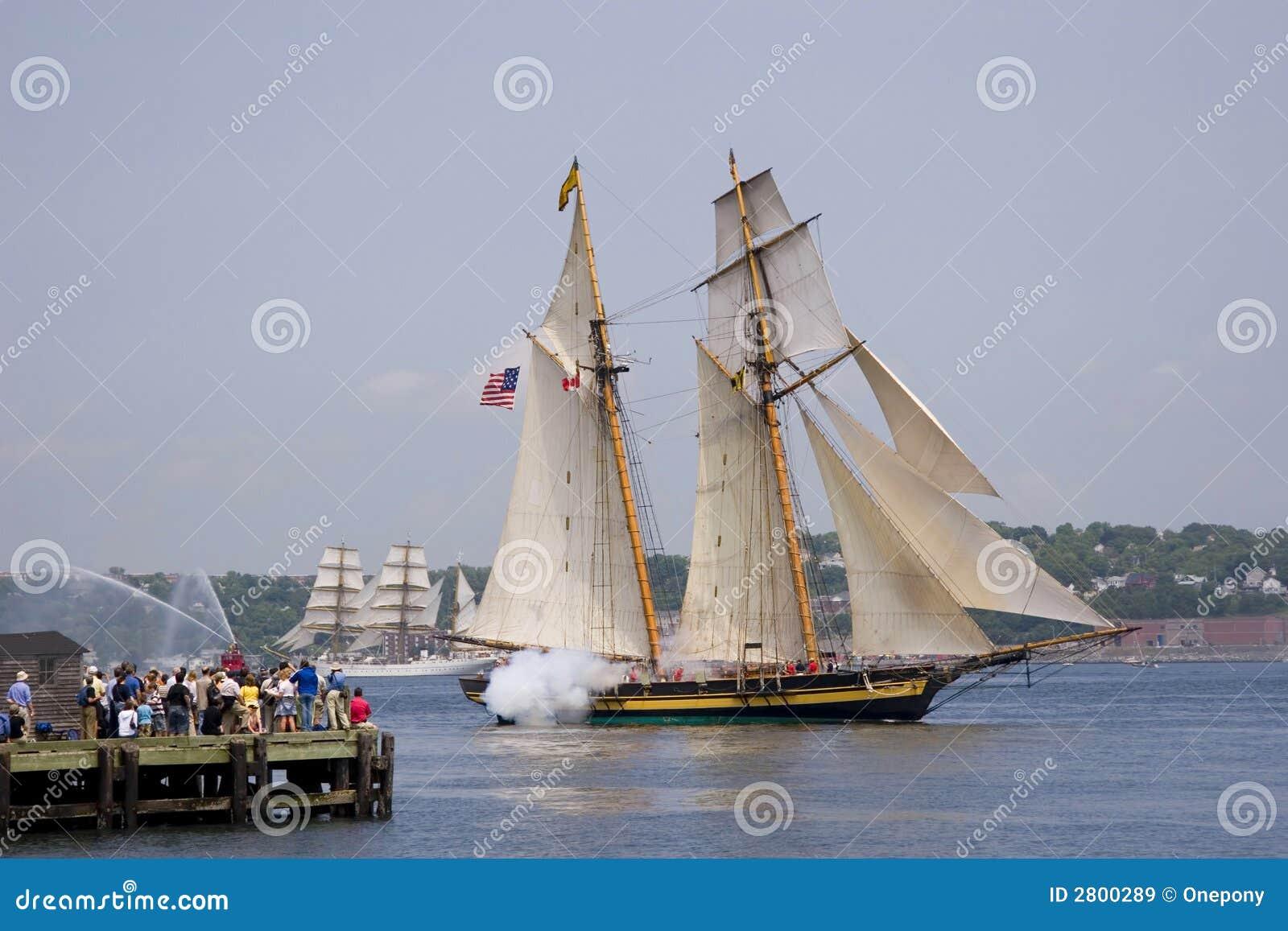 Bateaux grands de la Nouvelle-Écosse