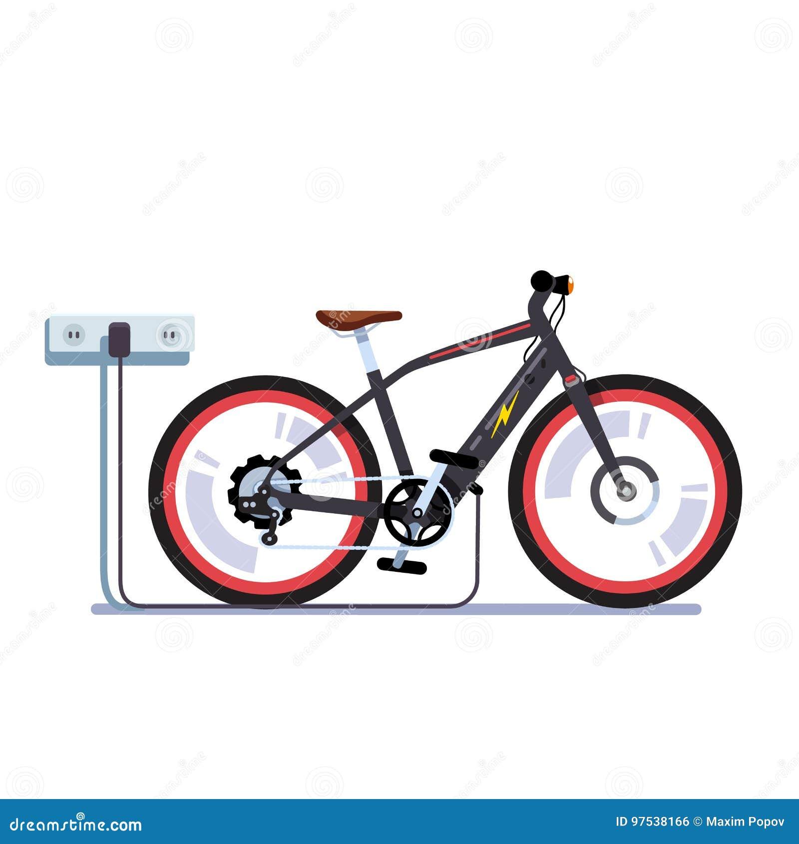 Baterias de carregamento da bicicleta elétrica com tomada