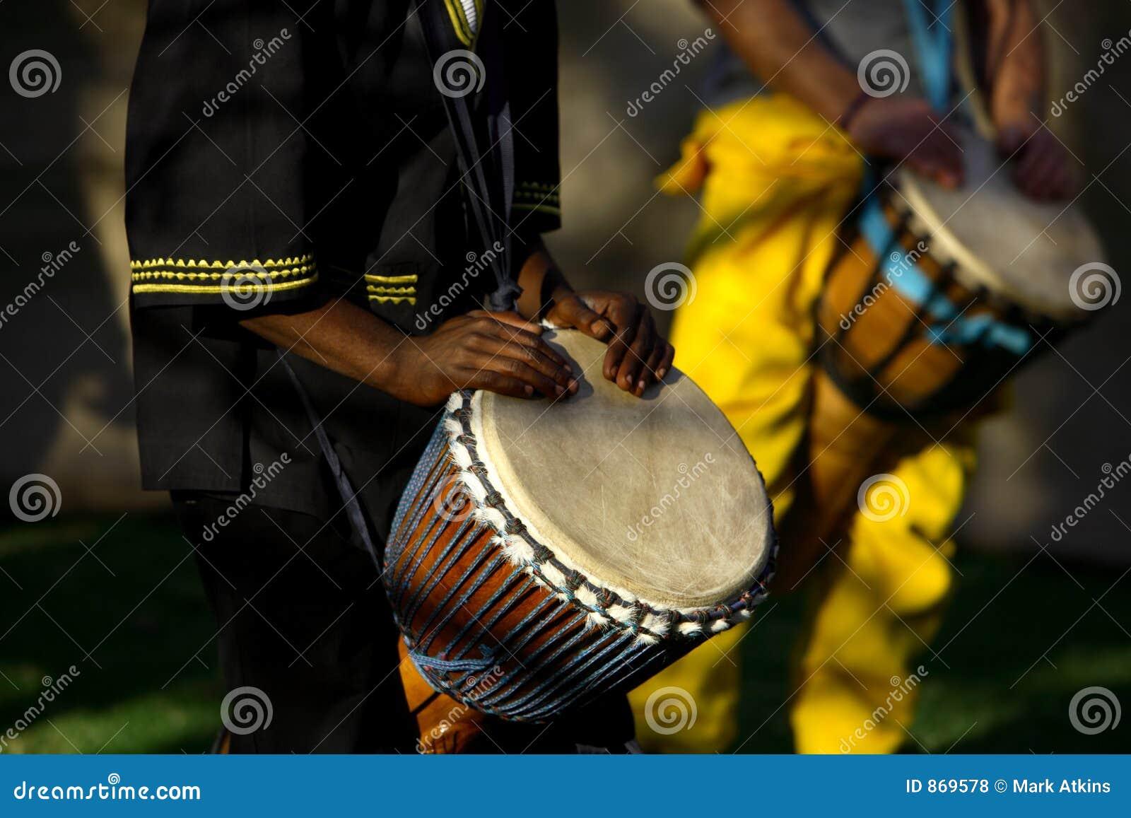 Bateristas africanos