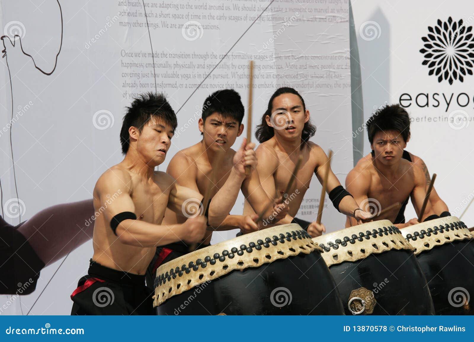 Bateristas do estilo japonês
