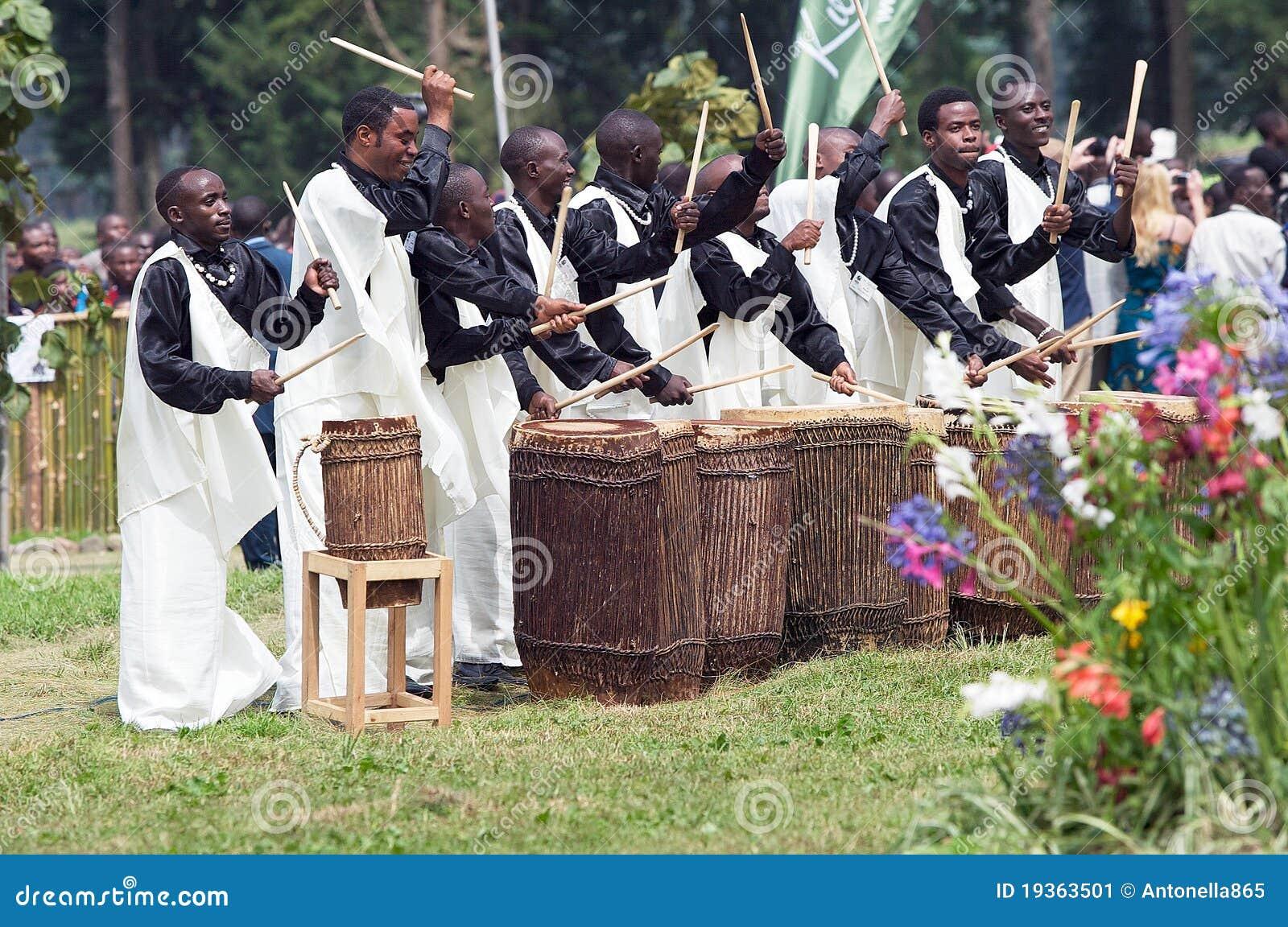 Bateristas ruandeses