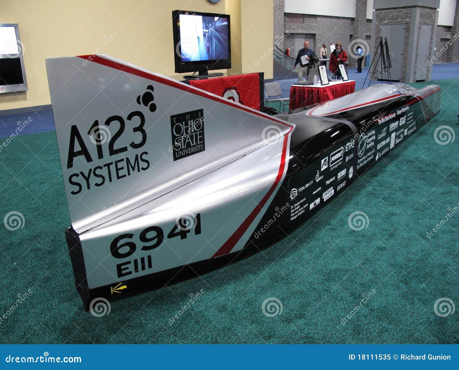 Bateryjnego samochodu zasilająca prędkość