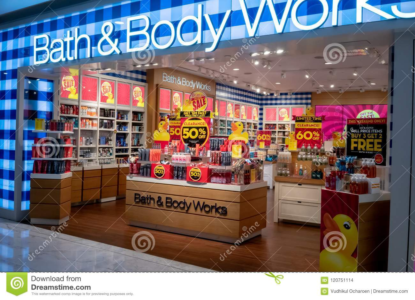 Bath & Body Work Shop At Emquatier, Bangkok, Thailand, Jun 29, 2 ...