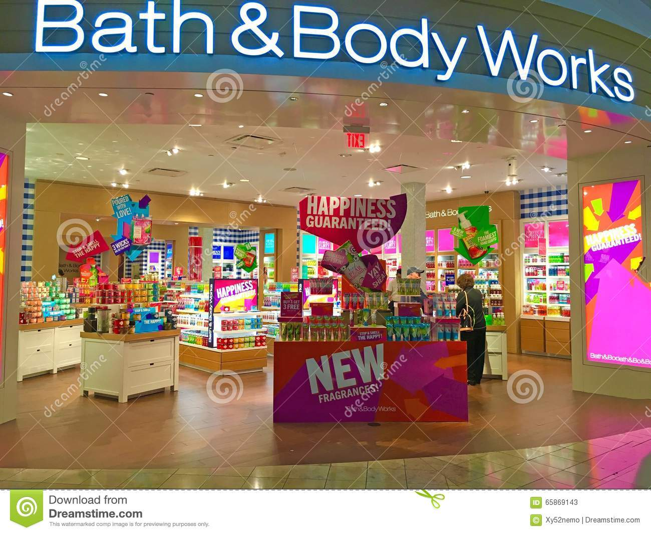 Bath And Body Works Store Editorial Stock Photo Image Of