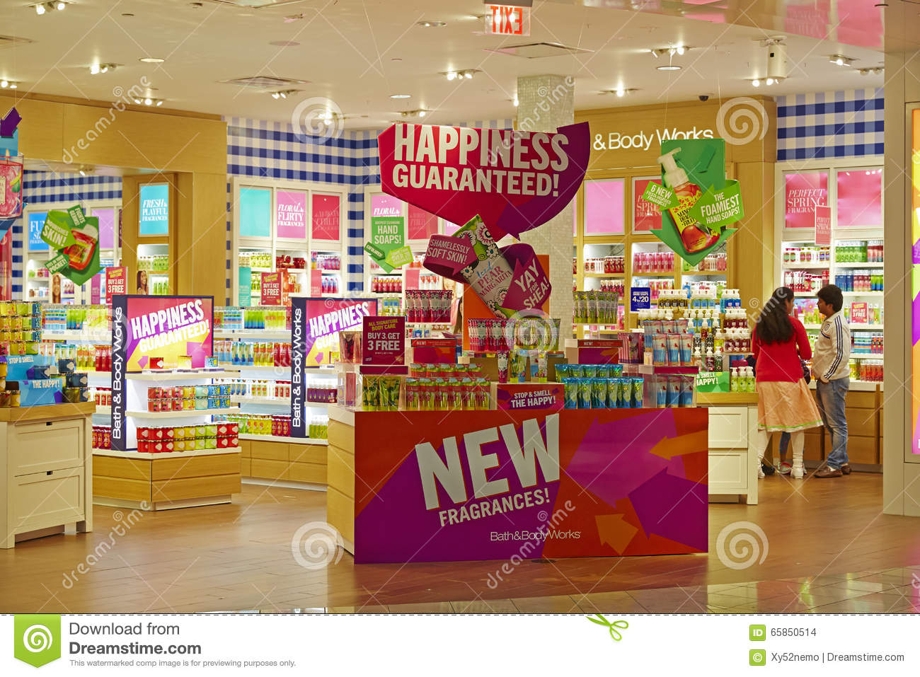 Bath And Body Works Store, Interior View Editorial Stock Image ...