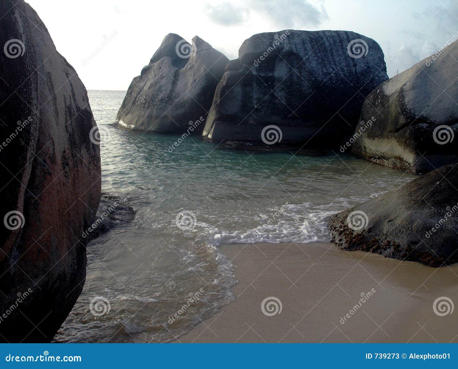 Bath dans B.V.I. dans les Caraïbe