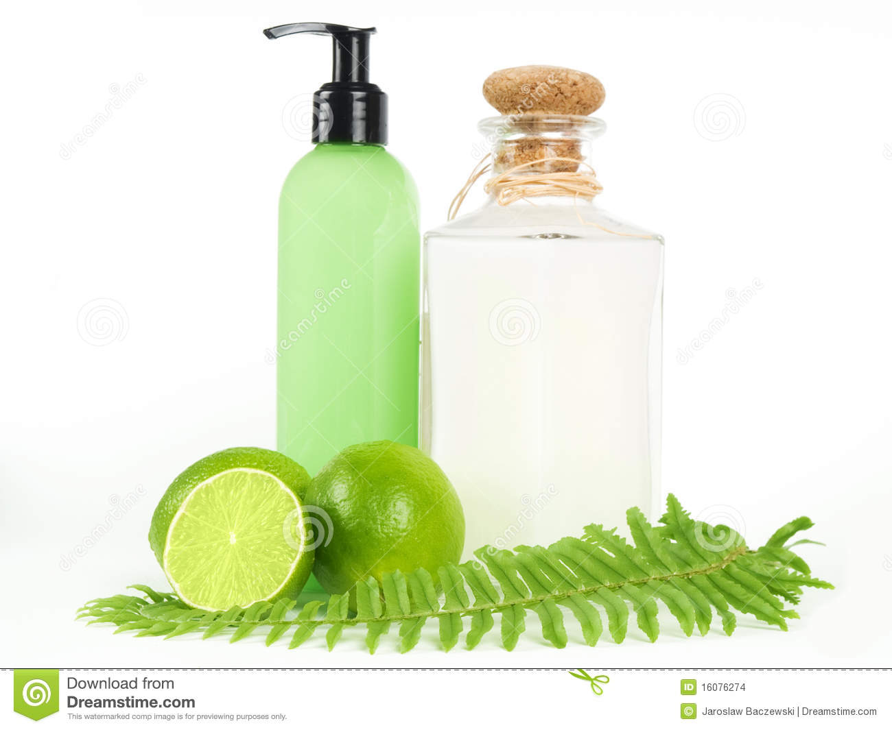 Bath essentials stock photo image of decoration green for Bathroom essentials